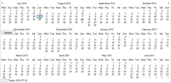 4 x 3 Months