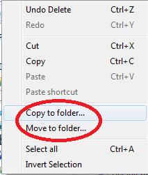 Copy to Folder