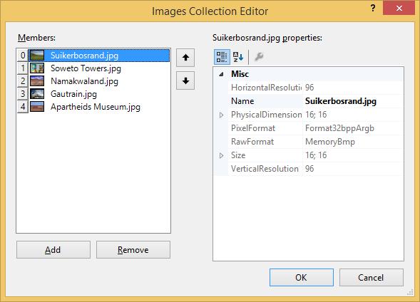 Example ImageList