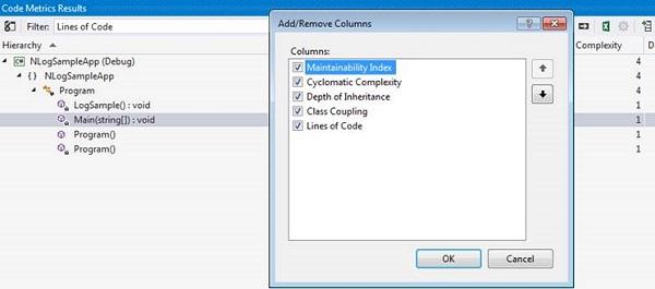Add/Remove columns