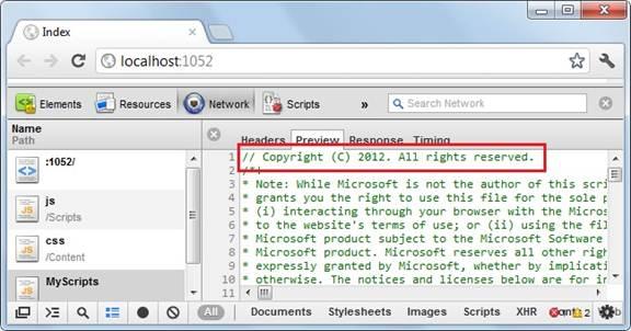 Copyright line added