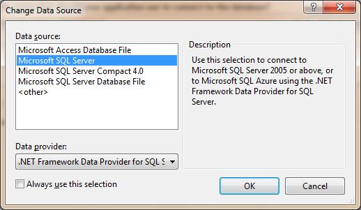 Change Data Source