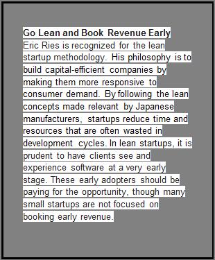 Book Revenue Early
