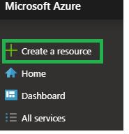 Create New Azure Resource
