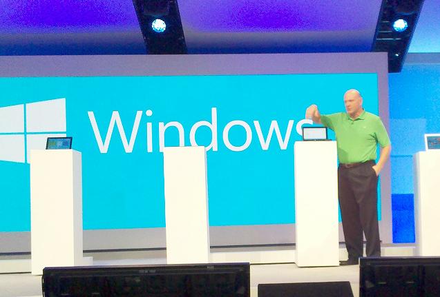 Steve Ballmer at Microsoft Build 2012
