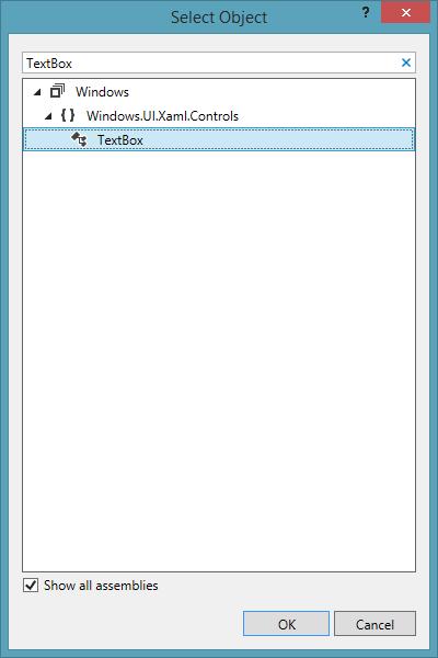 Select TextBox