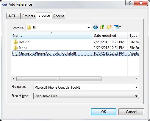 Silverlight for Windows Phone Toolkit