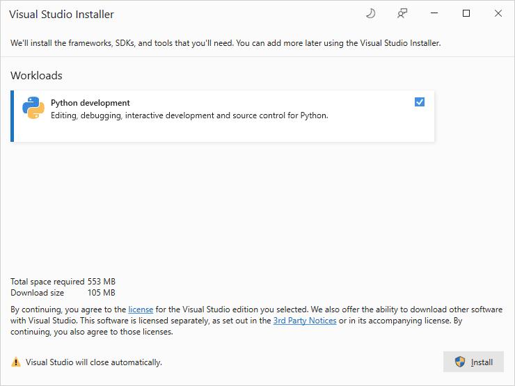 Infer# Install Python